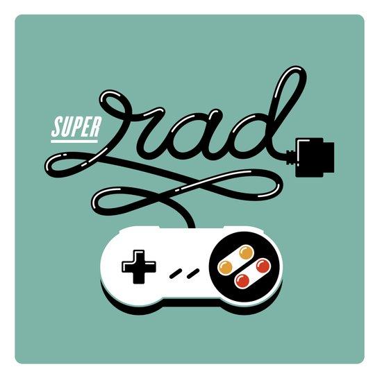 Super Rad Art Print