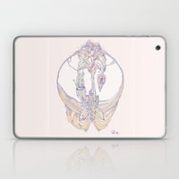 coral orchid Laptop & iPad Skin