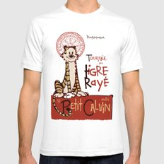 Le Tigre Rayé Mens Fitted Tee White SMALL