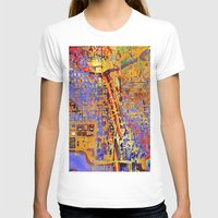 chicago T-shirts featuring chicago by donphil