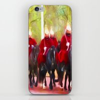 The Queens Life Guards O… iPhone & iPod Skin