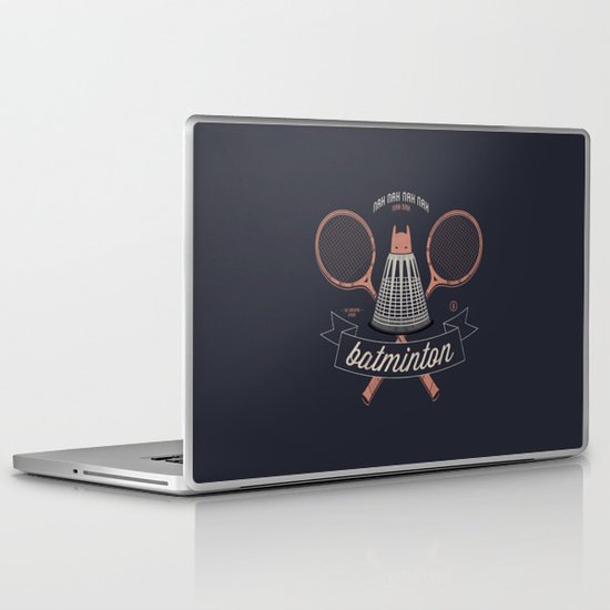 Nah Nah Batminton Laptop & iPad Skin