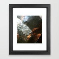 girl in the spoon Framed Art Print
