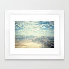 Death Valley Cloud Shado… Framed Art Print