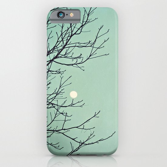 Holding the moon iPhone & iPod Case