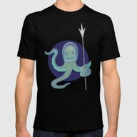 T-shirt featuring Lil Alien - Squiddy  by Mrbiscuit