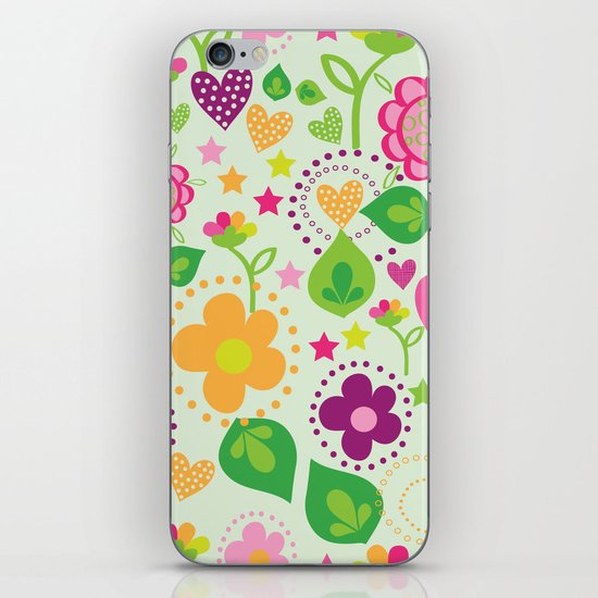 Summer feeling iPhone & iPod Skin