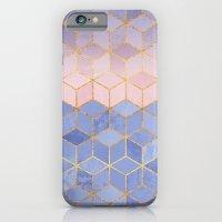 Rose Quartz & Serenity Cubes iPhone 6 Slim Case