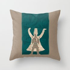 There is another me, deep inside of me Throw Pillow
