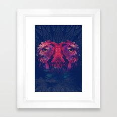 OWLS - Psychedelic | Art | Movement | Pop Art | Abstract | Animals | 70's | Trip  Framed Art Print