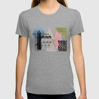 Summer Womens Fitted Tee Tri-Grey SMALL