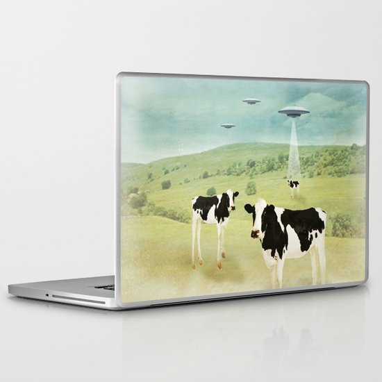 we all like burgers _ US AND THEM  Laptop & iPad Skin