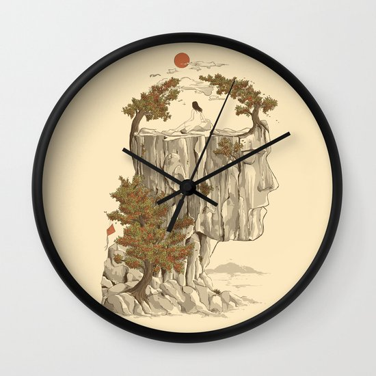 A Beautiful Mind Wall Clock