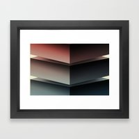 Color Cube Framed Art Print