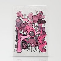 Structural Playground Stationery Cards
