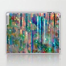 Space Glitch Laptop & iPad Skin