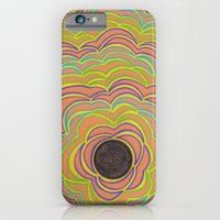 iPhone & iPod Case featuring Center Circle by Sarah J Bierman