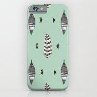 Feather Arrow Blue iPhone 6 Slim Case