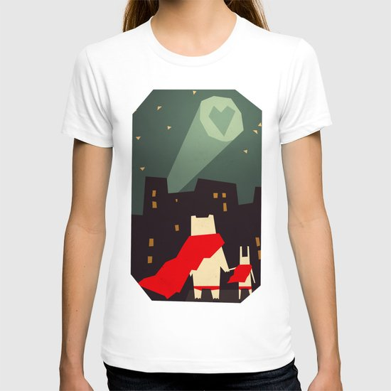The city needs love T-shirt