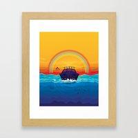 SummerTrip Framed Art Print