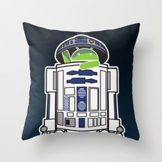 A Droid in you Droid Throw Pillow