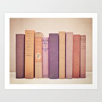 Literary Gems II Art Print