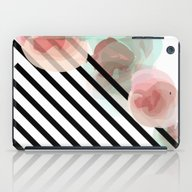 Watercolor Floral With S… iPad Case