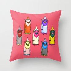 The Seven Hannya Throw Pillow
