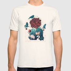 fructum caput Mens Fitted Tee Natural SMALL