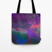 66-63-18 (Universe Rising Glitch) Tote Bag