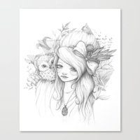 These Seasons Will Change Canvas Print