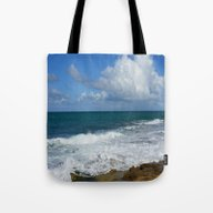 Colors Of The Sea Tote Bag