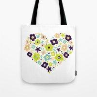 Heart of Pollen Tote Bag