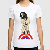 The second avenger Womens Fitted Tee Ash Grey SMALL