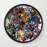 Marvel MashUP Wall Clock