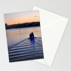 Boat man Stationery Cards