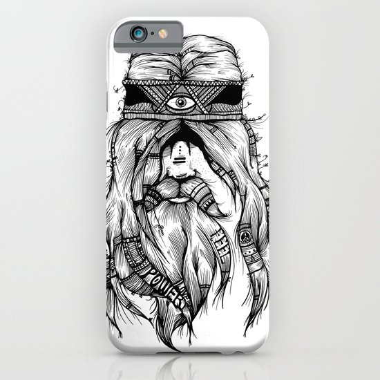 Feel, Peace, Love & Power iPhone & iPod Case
