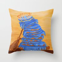 The 15-Layer Cake Throw Pillow