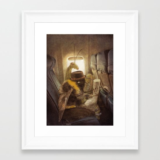 Flight of the Bumblebee Framed Art Print