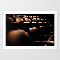 Ready for the Show Art Print