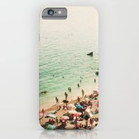 iPhone & iPod Case featuring La plage by basilique