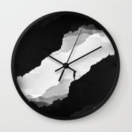 Wall Clock featuring White Isolation by Stoian Hitrov - Sto