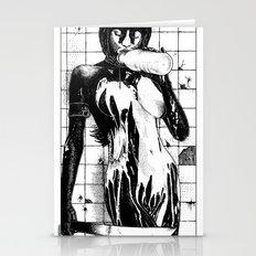 asc 453 - La purification avant la lutte (The war paint) Stationery Cards