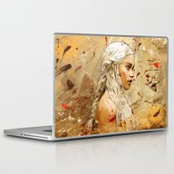 Khaleesi Laptop & iPad Skin