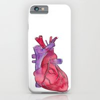iPhone & iPod Case featuring heart by Reneé Leigh Stephenson