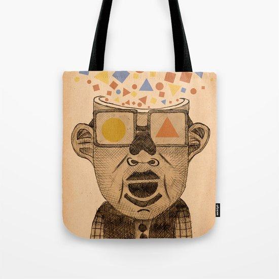 sometimes i just feel geometric Tote Bag