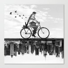 In Between Canvas Print