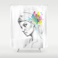 Butterfly Queen Shower Curtain