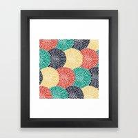 Flower Infusion 2 Framed Art Print