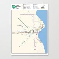 Milwaukee Transit System… Canvas Print